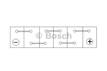 Akumulator BOSCH 7