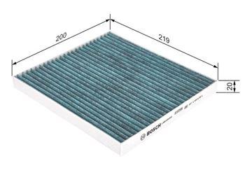 Filtr, wentylacja przestrzeni pasażerskiej BOSCH 6