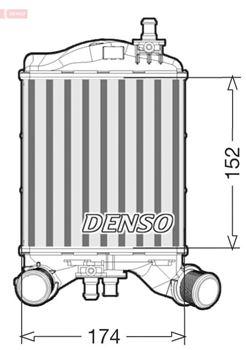 Chłodnica powietrza doładowującego DENSO 1
