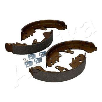 Zestaw szczęk hamulcowych ASHIKA 1